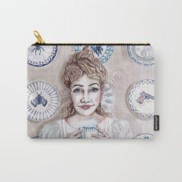 Madam Porcelain Carry-All Pouch