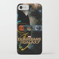 guardians of the galaxy iPhone & iPod Cases featuring Guardians of the Galaxy by edgarascensao