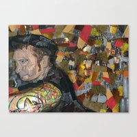 patrick Canvas Prints featuring patrick by rAr : Art by Robyn Ashley Rosner