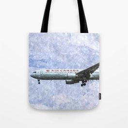 Air Canada Boeing 777 Art Tote Bag