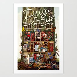 Bug House Art Print