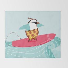 """""""Venus"""" [surfer] Throw Blanket"""