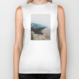 Beach Graffiti Biker Tank