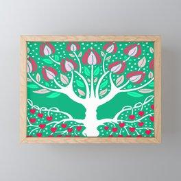 Love Grows Forever - Emerald Green Framed Mini Art Print