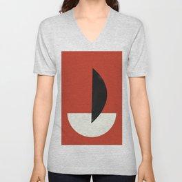 Geometric Abstract Art #6 Unisex V-Neck