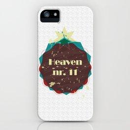 Heaven nr 11 iPhone Case