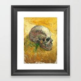 Van Gogh Skull Painting Framed Art Print