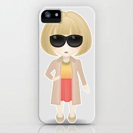 Anna Wintour iPhone Case