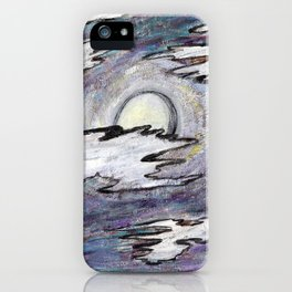 Moon in the Cool iPhone Case