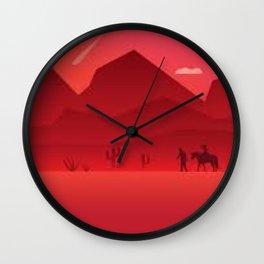 Dutch Vander Linder John Marston And Arthur Morgan Wall Clock