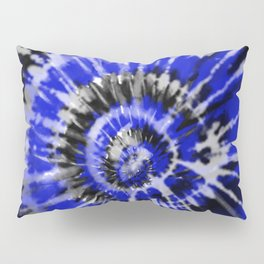 Dark Blue Tie Dye Pillow Sham