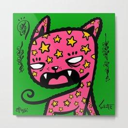 Ugly Kitties by Sabet #111 Metal Print