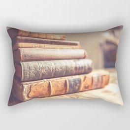 Bookish - Library Bookworm Books Rectangular Pillow