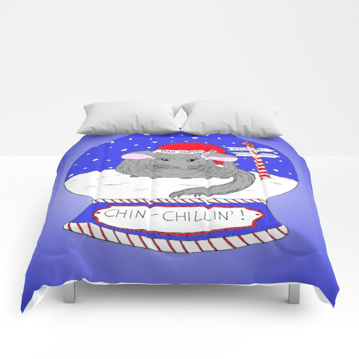 Chin-Chillin' Christmas Comforters