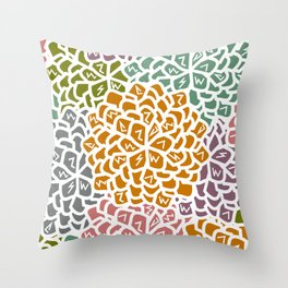 Floral decoration Throw Pillow