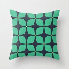 Jasmine Blue Throw Pillow