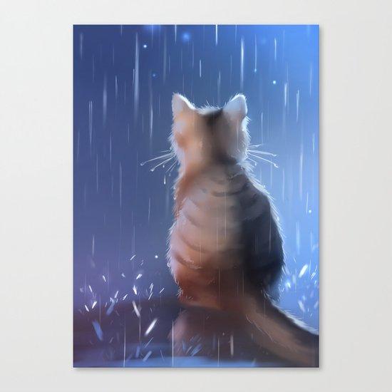 under rainy days like these Canvas Print