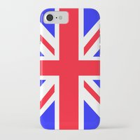 uk iPhone & iPod Cases featuring UK by the power of Mars
