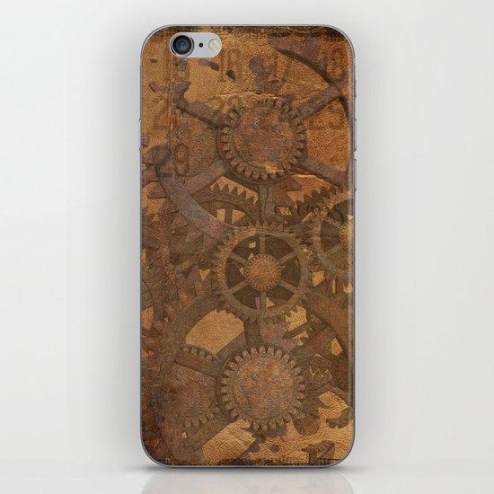 Rusty Gears iPhone & iPod Skin