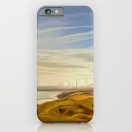 Across the Lake iPhone Case