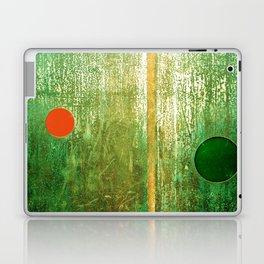 Metallic Face (Green Version) Laptop & iPad Skin