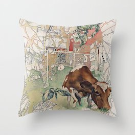 Cook Out Throw Pillow