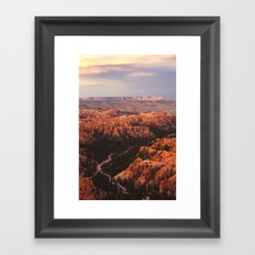Inspiration Point Framed Art Print