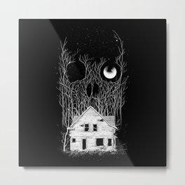 Horror house Metal Print