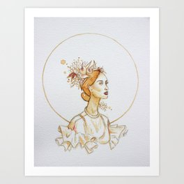 """Naturelle 1/3"" Art Print"