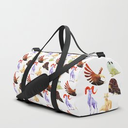 Arctic animals Duffle Bag