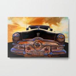 Sweet Ride Nineteen Fifty Style Metal Print