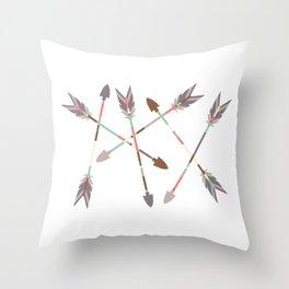 Arrow Stack Throw Pillow