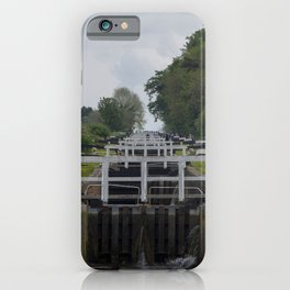 Looking up Caen Hill iPhone Case