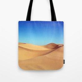 Scenic Sahara sand desert nature landscape Tote Bag