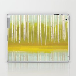 Birch Trees Laptop & iPad Skin