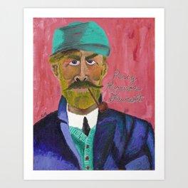 The Explorer Series: Percy Harrison Fawcett Art Print