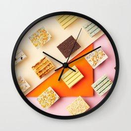 Kit Kats Wallpapper Wall Clock