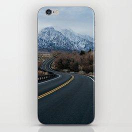 Blue Mountain Road iPhone Skin