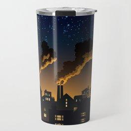 Industrial Town Travel Mug