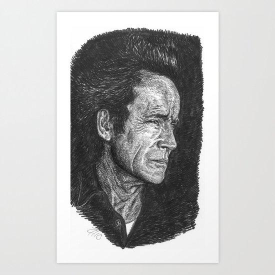 Lance Henriksen Art Print