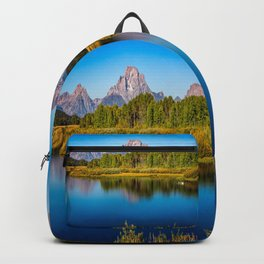 Oxbow Bend - Mt Moran in the Grand Tetons Backpack