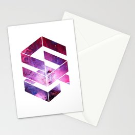 Abstract Space - version 1 Stationery Cards
