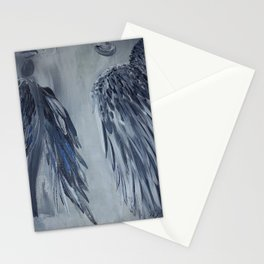 Soul Mates in Blue Stationery Cards