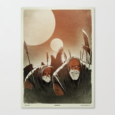 Fallen: II. Canvas Print
