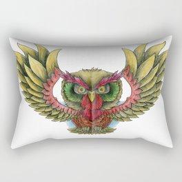Swooping Owl Rectangular Pillow