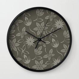 MAUA flora Wall Clock