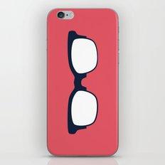 Sun Glasses on Red iPhone & iPod Skin