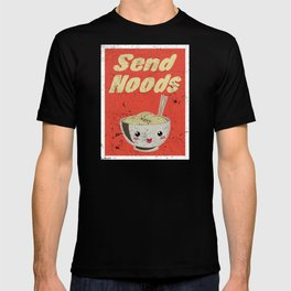 Send Noods Vintage Ramen Noodles Japanese Food Gift For Foodies T-shirt