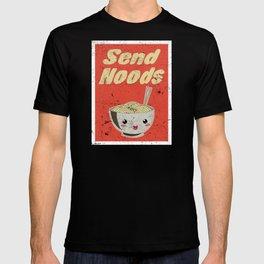 Send Noods Vintage Ramen Noodles Japanese Food Gift For Foodies T-shirt