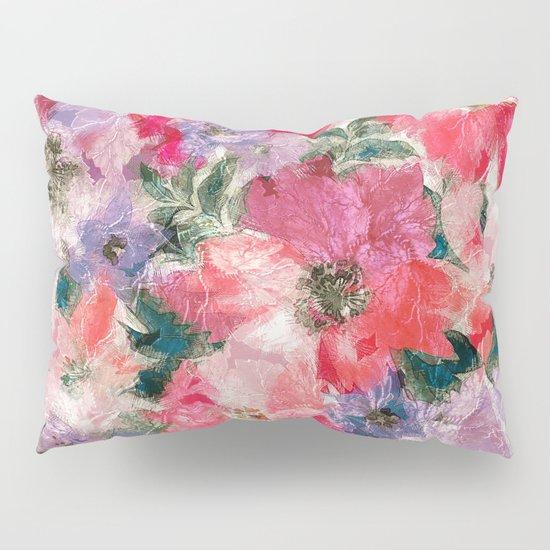 Splendid Flowers 2 Pillow Sham